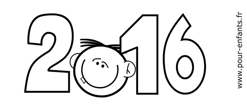 Calendrier coloriage 2016 à imprimer. Ce calendrier va s'imprimer ...